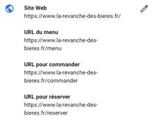url menu