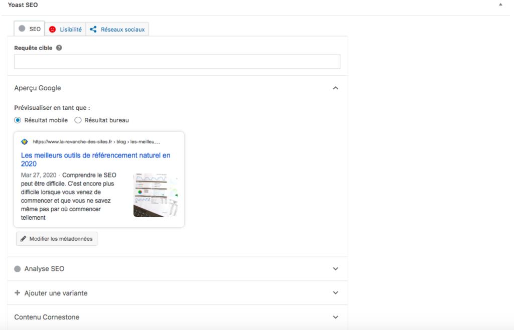 Le meilleur outil de référencement gratuit pour WordPress: Yoast SEO